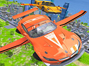 Play Flying Car Extreme Simulator Online