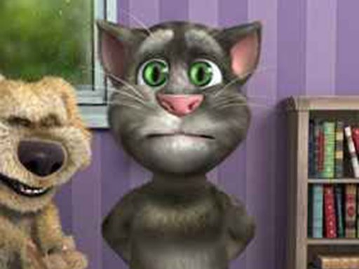 Play Talking Tom Funny Time Online