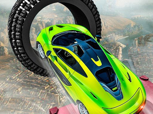 Play Crazy Car Racing Stunts Online