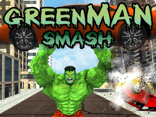 Play Green Man Smash Online